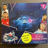 2019/20 Topps Crystal Champions League 24 Pack Box **In hand to ship from USA**