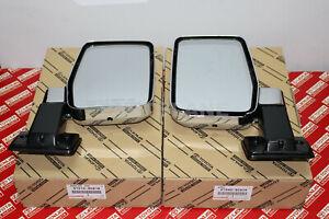 Toyota Land Cruiser FJ62 BJ60 HJ60 OEM Genuine Outer Rear View Mirror RH & LH