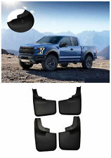 For 2004-14 Ford F-150 Mud Flaps 4pcs Front Rear Splash Guard WITH Fender Flares
