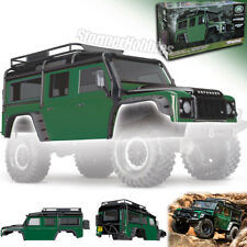 Traxxas 8011G TRX-4 Land Rover Defender Adventure Edition Green Painted Body