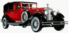 Rolls Royce Rare 1920s Vintage Antique Classic Car 1 24 Carousel Red 12 Metal 18