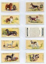 Full Set, Ogdens, Dogs 1936 VG+ (Ga3490-467)