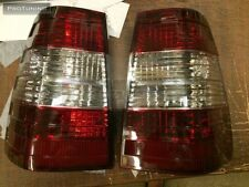 Mercedes Benz W124 S124 Wagon W124T 5D RED Clear REAR TAIL LIGHTS Rückleuchten