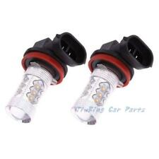 2X 80W Super Bright White H11 H8 LED Fog Driving Light Bulb Cree 16-3535 SMD 12V