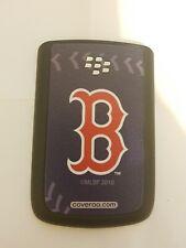 Coveroo Boston Red Sox Stitch Design On Blackberry Bold 9700 Battery Door C21