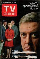 1970 TV Guide January 17 - Don Galloway, Ironside; Meredith MacRae, Petticoat Ju