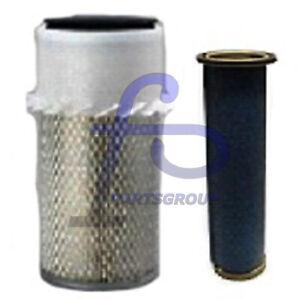 Inner Outer Engine Air Filter Kit 6598492 6598362 For Bobcat T190 Skid Steer