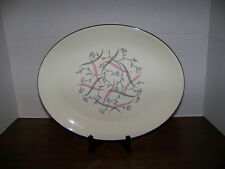 vintage Homer Laughlin Rhythm Capri Platter USA 1950's
