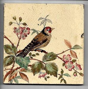Antique Bird Tile C1890