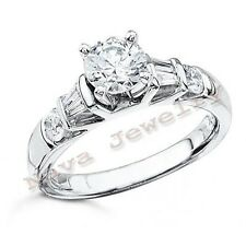 2.02 Ct ROUND CUT DIAMOND ENGAGEMENT SOLITAIRE RING NEW