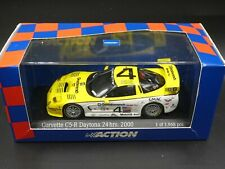 Action 1:43 Corvette C5-R #4 Daytona 24 hrs 2000 Pilgrim/Collins/Freon AC4001404