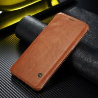 For Samsung Galaxy Note 10+/S20/10 Genuine G-CASE Leather Wallet Card Flip Cover
