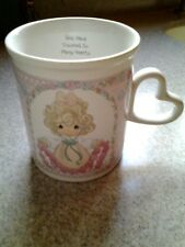 Vintage Precious Moments by Enesco You Have Touched So Many Hearts Coffee Mug