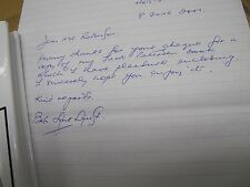 BOB LONKHURST FIRST EDITION HB WITH D/J WITH PERSONAL HANDWRITTEN LETTER SIGNED