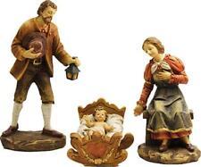 Krippenfiguren Krippenblock Heilige Familie in der Größe 20cm