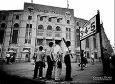 YANKEE BOYS - VINTAGE YANKEE STADIUM - POSTER 24x36 - BASEBALL 36750