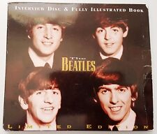 THE BEATLES Interview CD Disc & Fully Illustrated Book LIMITED EDITION SAM7001