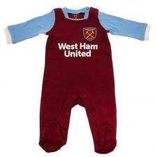 West Ham United Utd FC Pigiama 9/12 LAV Babygrow KIT