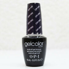 OPI GelColor Soak Off LED/UV Gel Nail Polish 15ml 0.5 fl oz OPI Ink #GCB61
