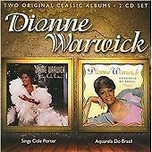 Dionne Warwick - Sings Cole Porter/Aquarela do Brasil (2011) 2CD NEW  SPEEDYPOST