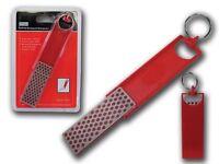 "3"" Folding Diamond Knife Sharpener with Keychain 1"" x 2 3/7""    DKSS5005"
