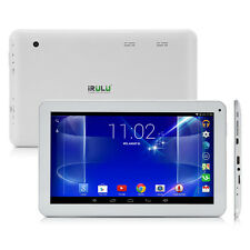 "iRULU 10.1"" inch White Tablet PC 16GB Android 5.1 Quad Core Bluetooth WIFI Pad"