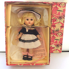 "Vintage Vogue Ginny Doll ""And Away We Go"" Near Mint All Org Box Beautiful Blonde"