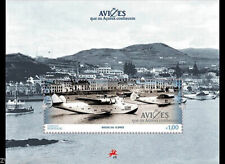 "Portugal - ""BOEING CLIPPER ~ AIRCRAFT KNOWN TO AZORES ISLANDS"" MNH MS 2014"