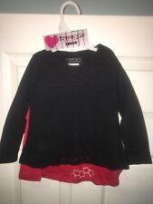 Girls 2 Shirt Set Red & Black 2T Freestyle Revolution New! Christmas / Holiday!
