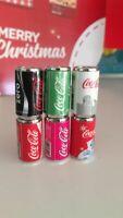Zuru Mini Brand1:12 Set Of  6 Coca Cola Coke Cans Great for Coles Little Shop 2
