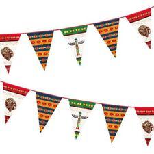 Décorations de fête guirlandes rouges anniversaires-enfants pour la maison