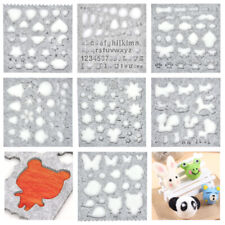 Wool Felt Mold Needle Felting Molds DIY Craft Stencil Applique Mold Sewing Ac…