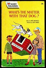 Vintage Wonder Books Easy Reader Book ~ WHAT'S THE MATTER WITH THAT DOG?