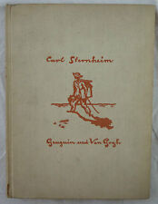 Carl sternheim, Gaugin et van Gogh. verlag la forge 1924