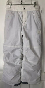New Columbia Snow/Ski Pants White Youth Large (14-16) Out Grown Fleece Lined R45