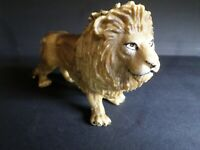 FIGURINE LION SCHLEICH, PVC, ANIMAUX SAUVAGES, TB, VF TOYS, occasion
