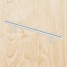 """Cabinet Hardware Steel Bar Pulls pd04 Stainless Steel 128mm / 5"""" CC"""