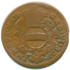 Italien-Mantova, Karl VI., 2 Soldi(Soldone) 1732