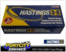 Hastings Cast Piston Ring Set Ford 6cyl Falcon XD XE XF Fairlane ZK 4.1L RS1720