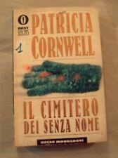 """DALLA MIA COLLEZIONE PATRICIA CORNWELL  : """" IL CIMITERO DEI SENZA NOME"""" 1999"""