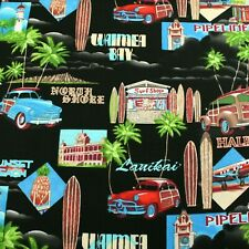 Summer By Trans Pacific 100% Cotton Clothing  Backing Quilting Craft Fabric