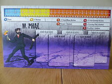 Zombicide - M. Phal - Character Dashboard Card (Card only)