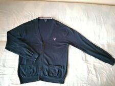 GANT Strickjacke gr. L Marineblau 70% Baumwolle 30% Wolle  TOP!!