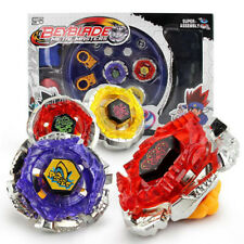 4D Beyblade Set Top Fusion Metal Master Fight Rapidity Toys Launcher Kids