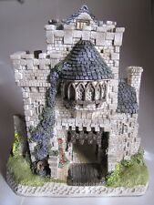 David Winter Bishopsgate-Bishop's Gate-The Castle Collection w/Box+Coa+Signed
