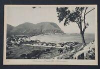 Vintage Postcard Sicily, Italy Palermo - Mondello - Panorama - Unposted