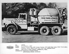 Lynn Sand /& Stone Co 1930s Era Mack Cement Mixer Factory Press Photo 0016