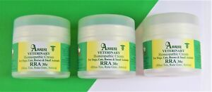 RRA Homeopathy Cream Triple  Dogs Cats Small Animals Assisi Veterinary 150g