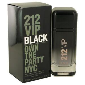 212 VIP Black by Carolina Herrera 3.4 oz EDP Cologne for Men New in Box