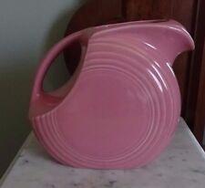 Fiestaware Large Disk Pitcher Pink